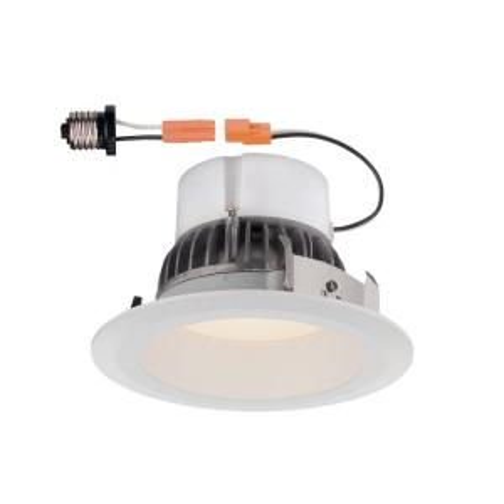 EnviroLite Deep Splay 4 inch 2700K White Trim Warm 91 CRI LED Ceiling Recessed Light by EnviroLite