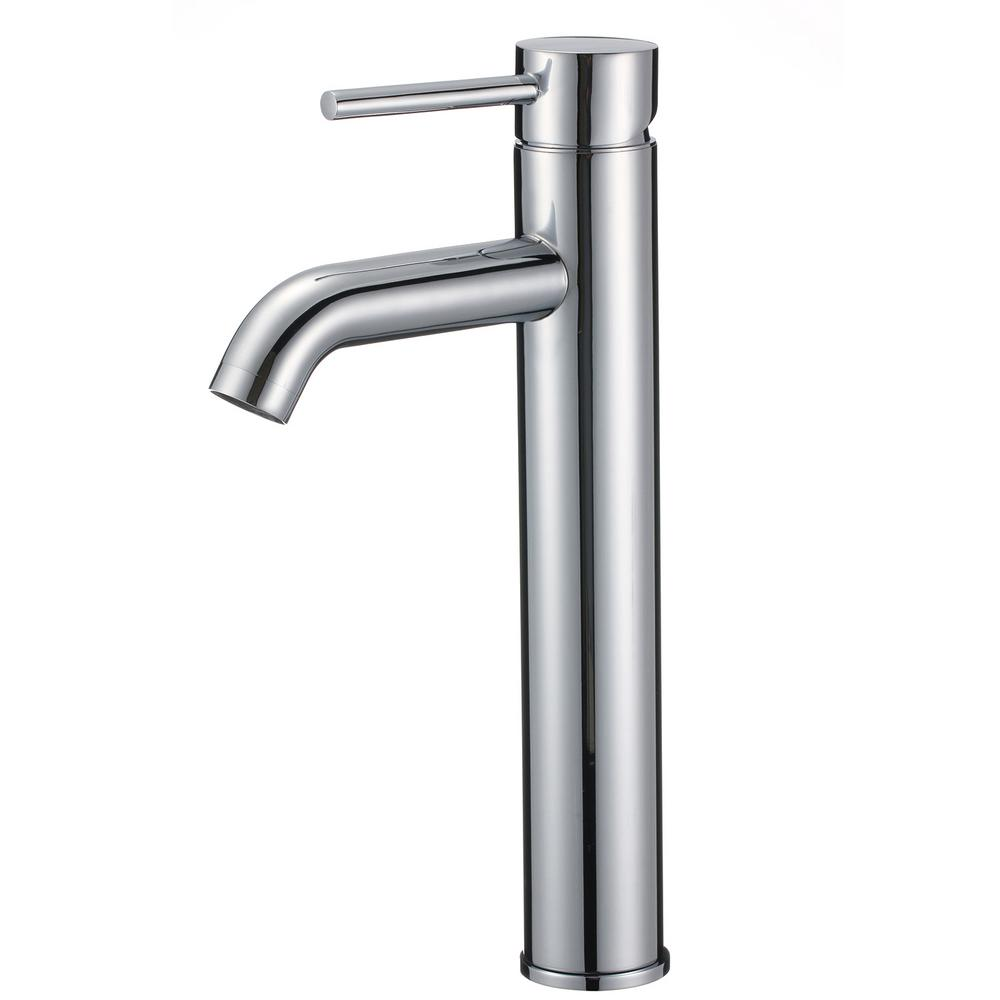 Upscale Designs Single Hole Single-Handle Bathroom Faucet in Polished Chrome