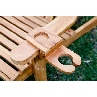 Redondo Adirondack Chair Teak Drink/Cup Holder