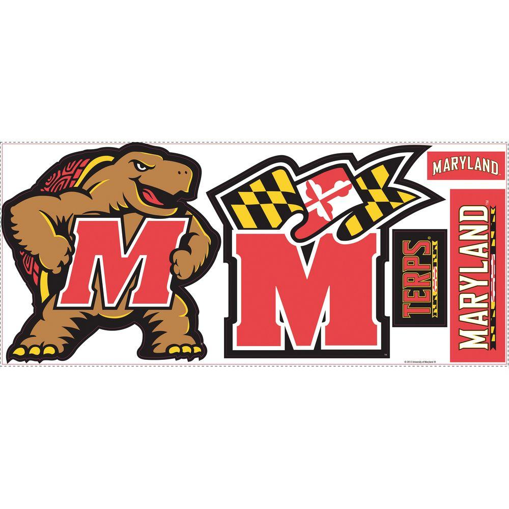RoomMates University of Maryland Giant Peel and Stick Wall Decals-DISCONTINUED
