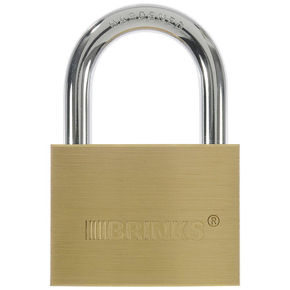 2-3/8 in. (60 mm) Solid Brass Lock