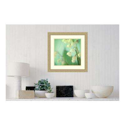 24 in. W x 24 in. H 'Lily of the Valley' by Judy Stalus Framed Printed Wall Art