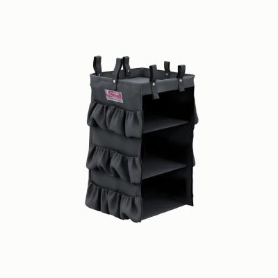 Housekeeping Cart 3-Sided Hanging Bag with Shelves