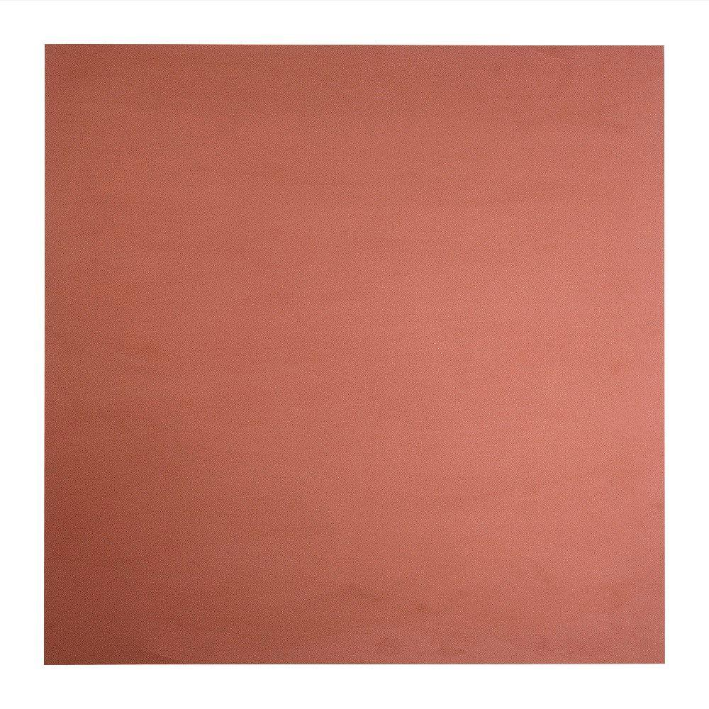Fasade Flat Panel - 2 ft. x 2 ft. Lay-in Ceiling Tile in Argent Copper