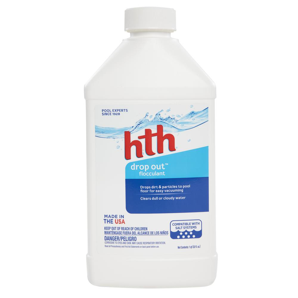Hth drop out flocculant 67017 the home depot for Pond chemicals
