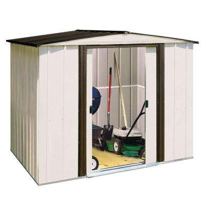 Newport 8 ft. x 6 ft. Steel Shed