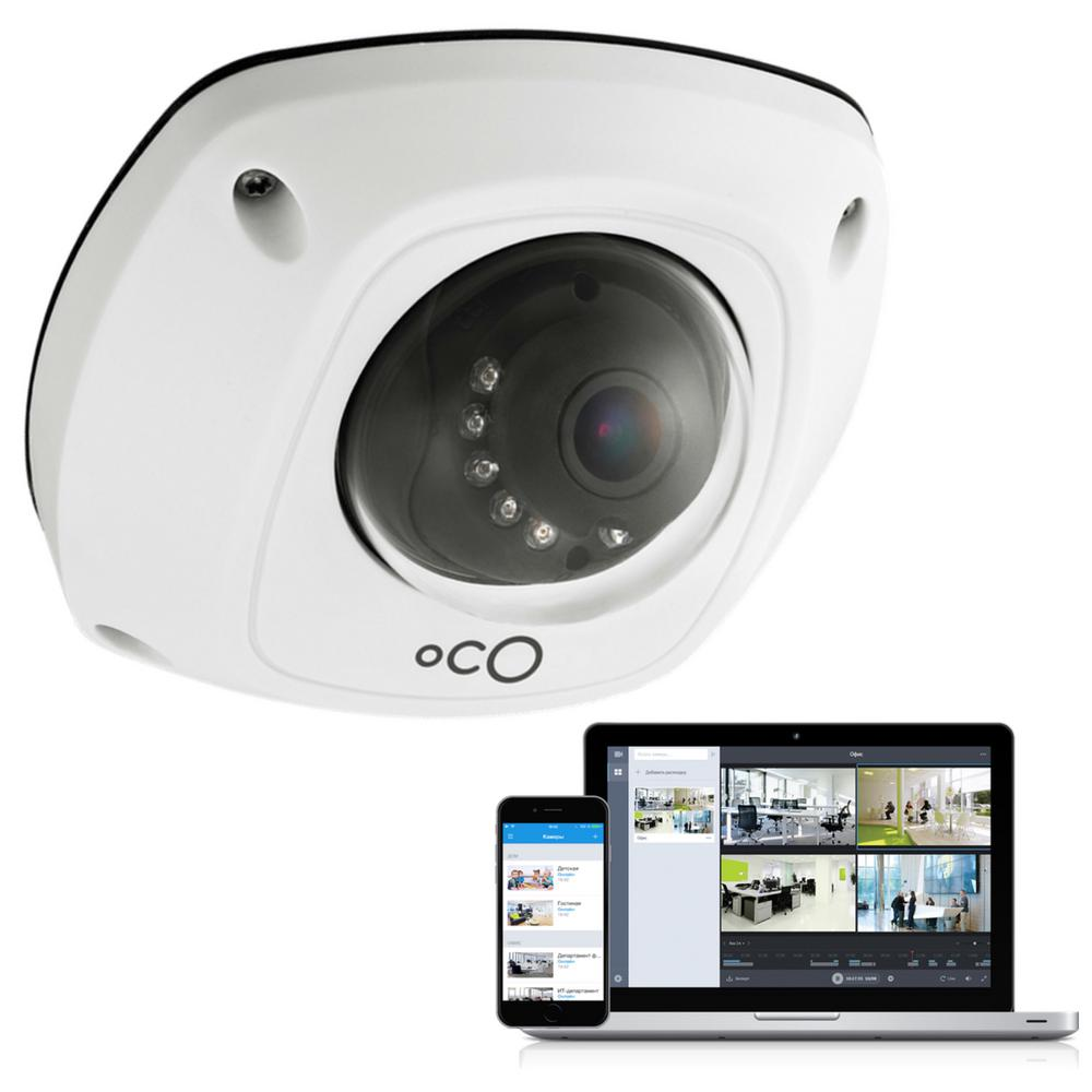 Oco pro dome outdoor indoor 1080p cloud surveillance and security camera with remote viewing - Exterior surveillance cameras for home ...