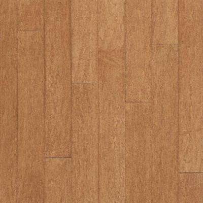 Take Home Sample - Amaretto Maple Engineered Click Lock Hardwood Flooring - 5 in. x 7 in.
