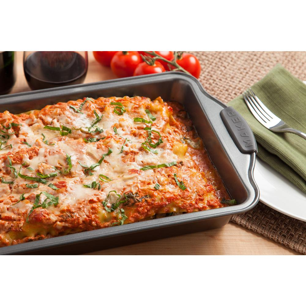 MAKER Homeware 16 Qt. Lasagna Pan