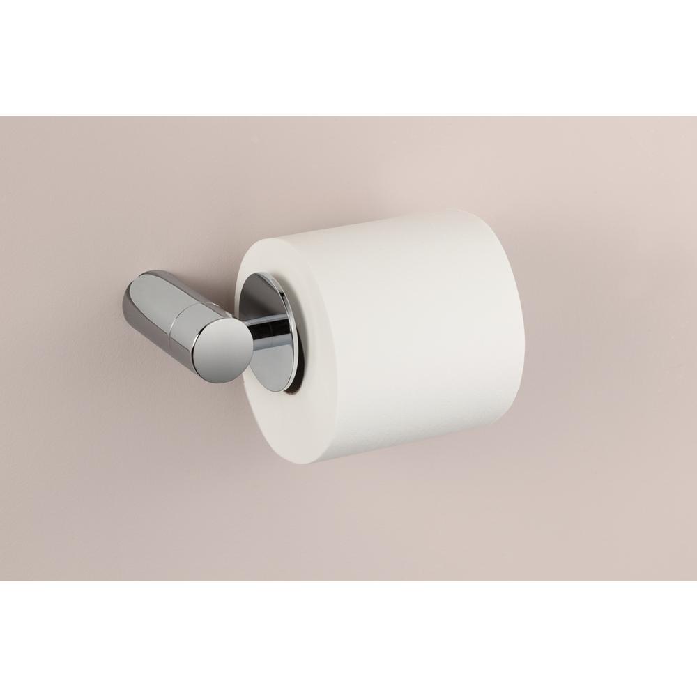 Align Single Post Toilet Paper Holder in Chrome