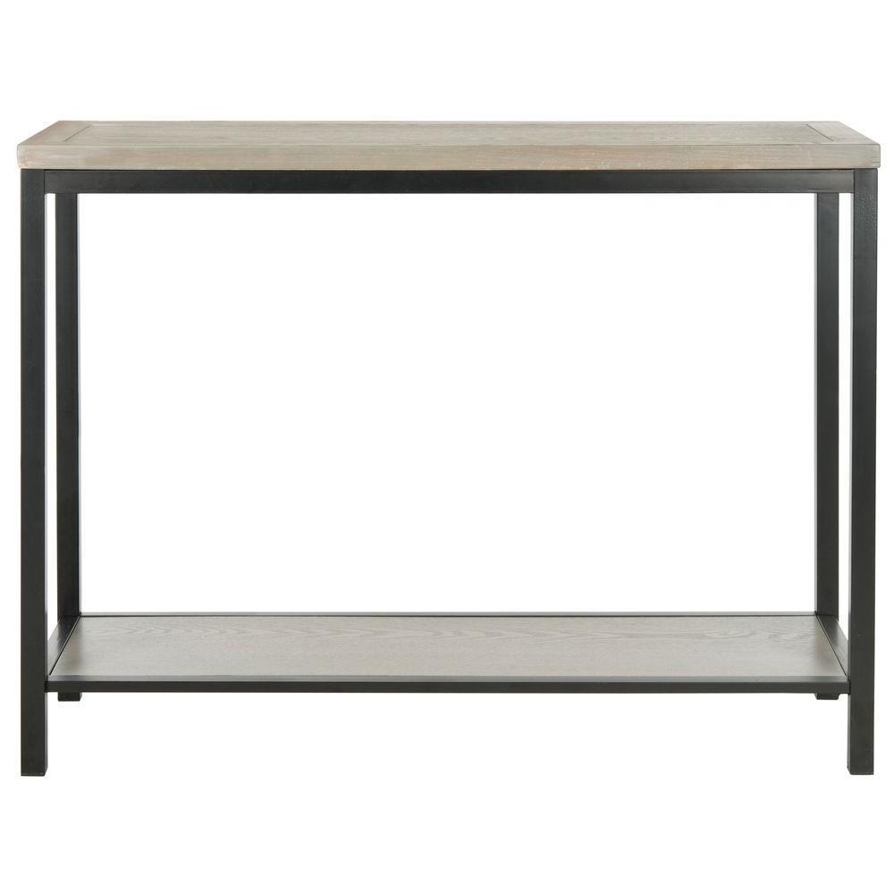 Dennis Ash Grey Console Table