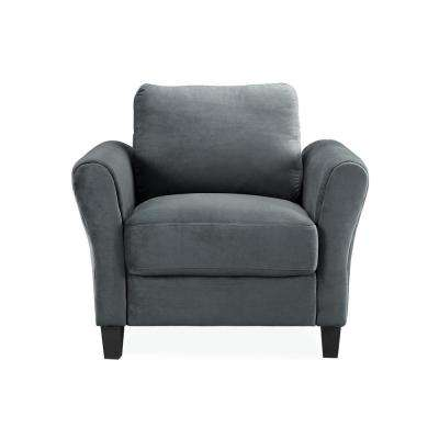 Wesley Chair in Dark Grey