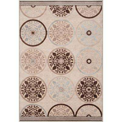 Clay Cream 4 ft. x 6 ft. Area Rug