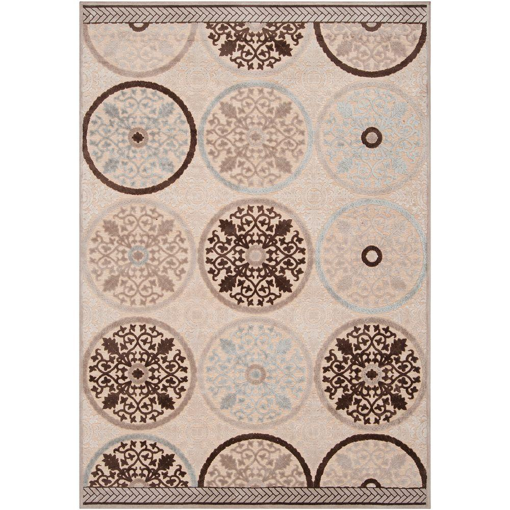 Clay Cream 8 ft. 8 in. x 12 ft. Area Rug