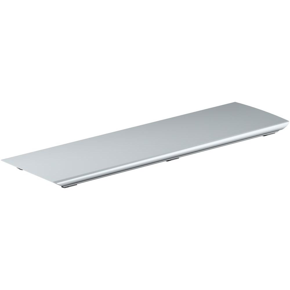 Bellwether 60 in. Aluminum Drain Cover in Bright Silver