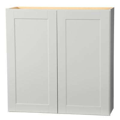 Shaker Assembled 36x36x12 in. Wall Kitchen Cabinet in Dove Gray