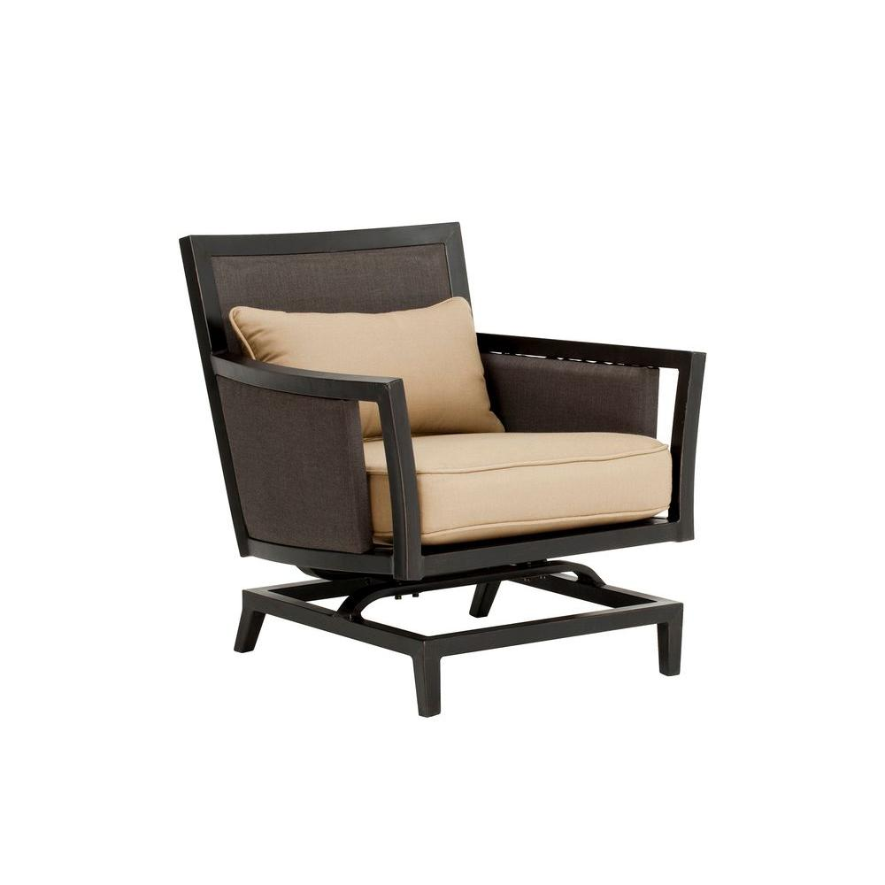 Greystone Patio Motion Lounge Chair in Harvest -- CUSTOM