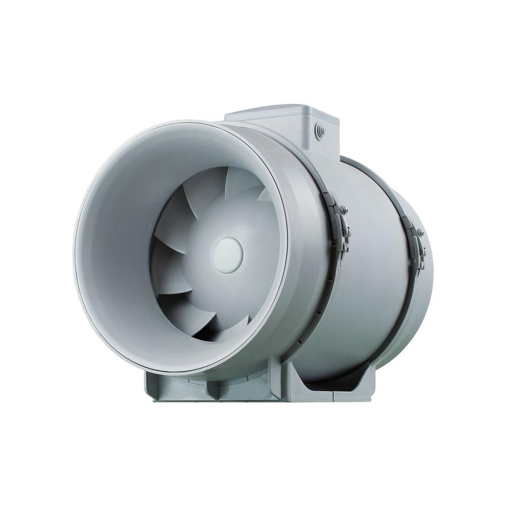 Inline Duct Vents : Vents cfm power in mixed flow line duct fan tt