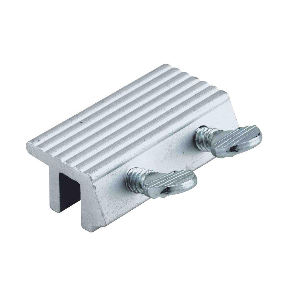 Prime Line Aluminum Double Thumbscrew Sliding Window Lock