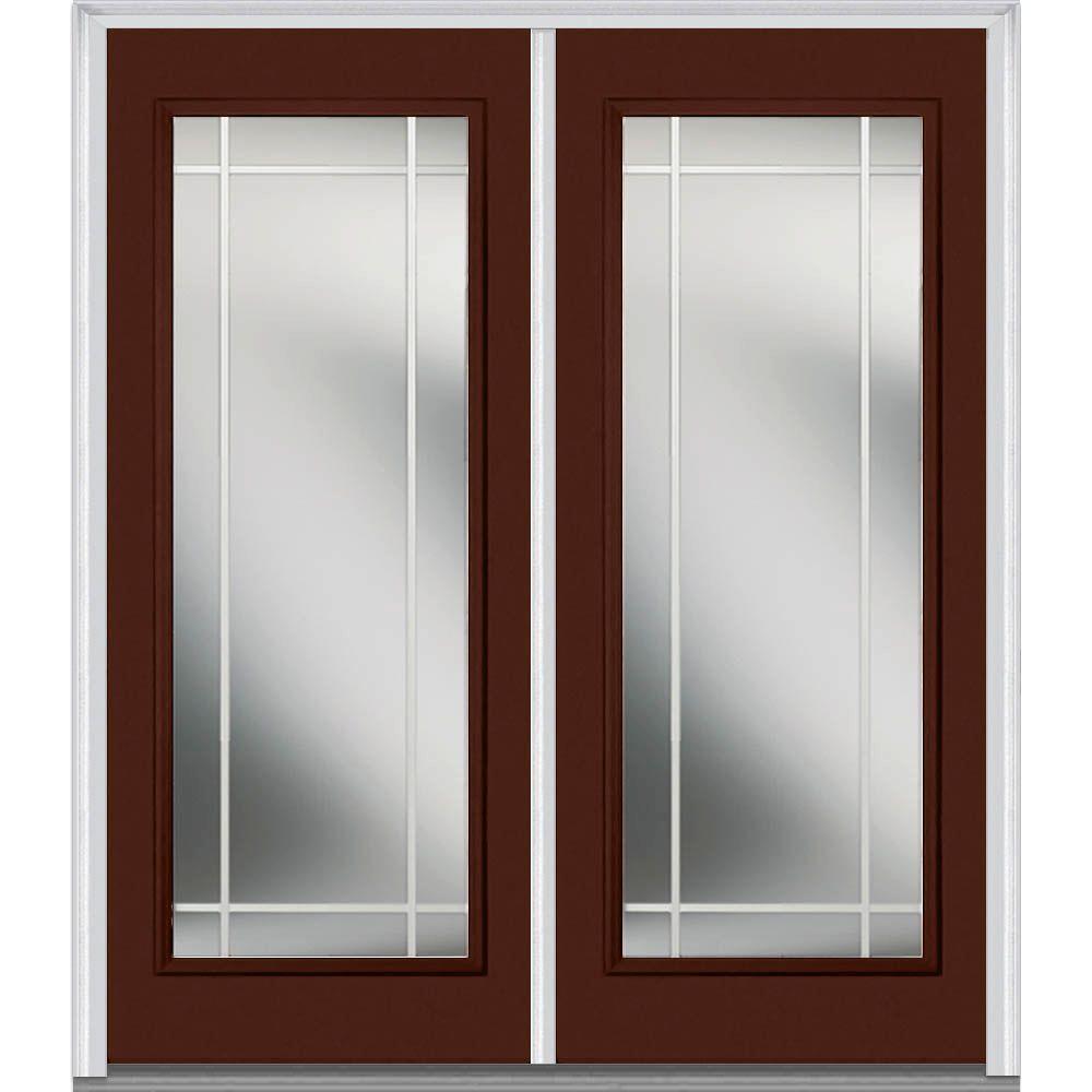 front door doubleDouble Door  Fiberglass Doors  Front Doors  The Home Depot