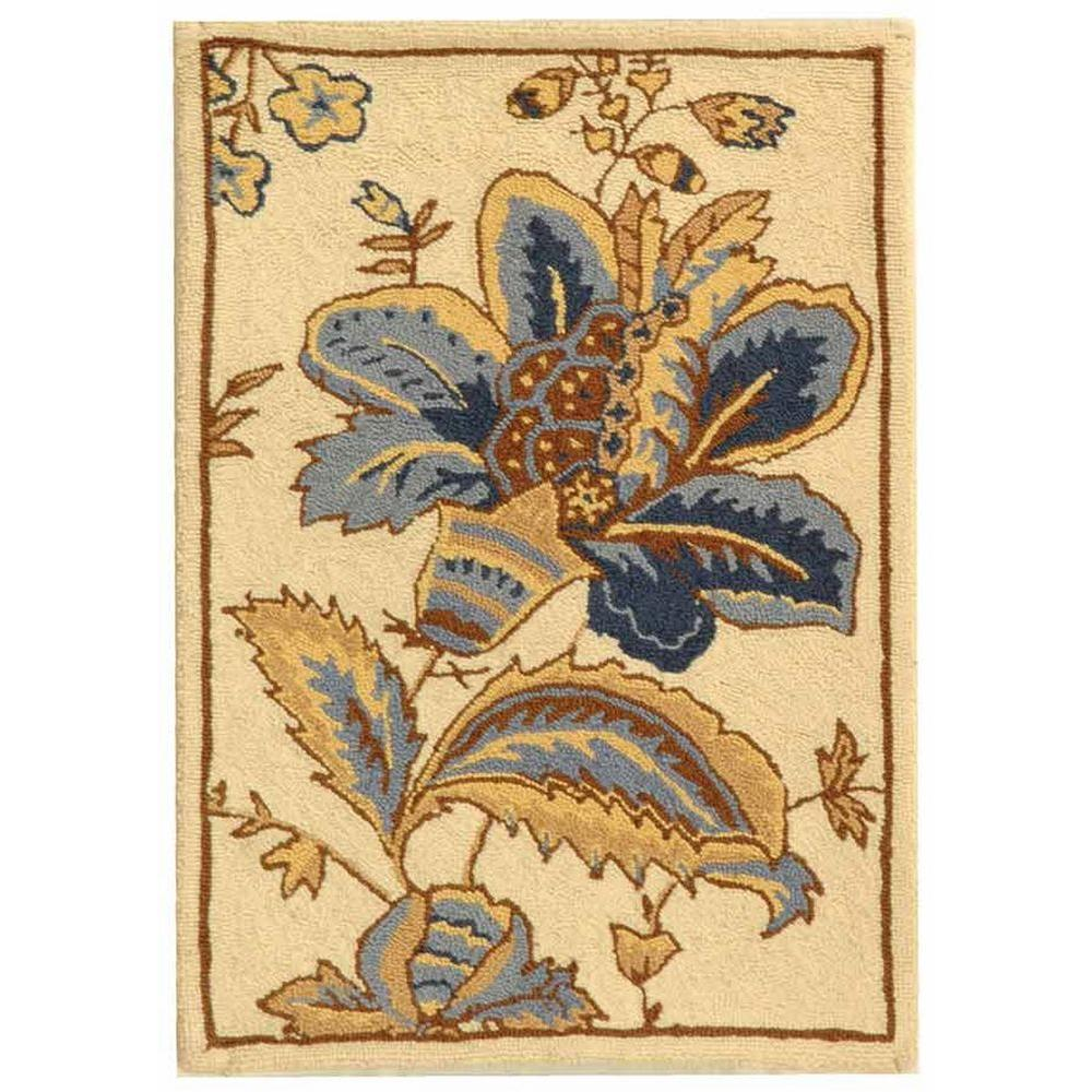 Safavieh Chelsea Ivory 2 ft. 9 in. x 4 ft. 9 in. Area Rug
