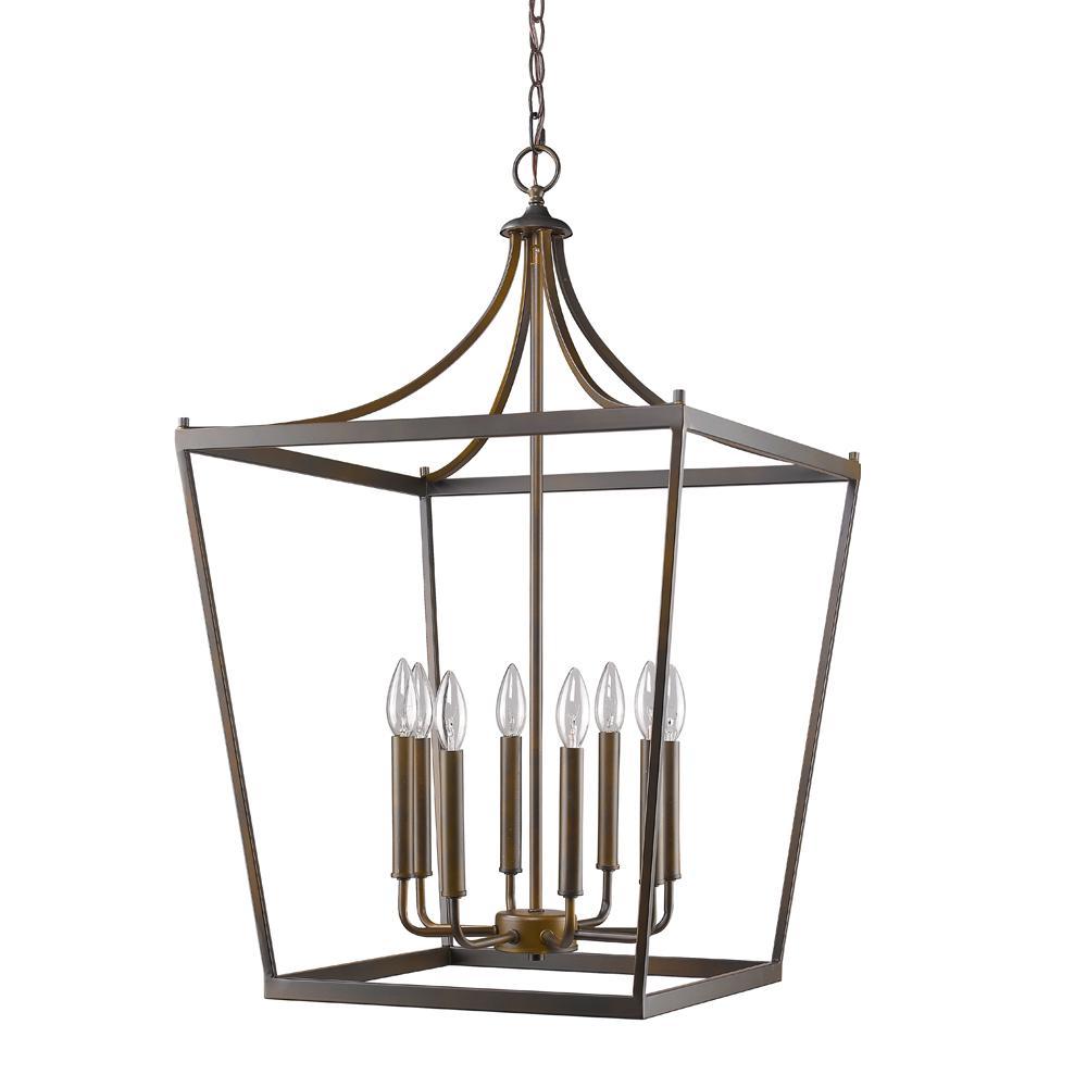 Kennedy Indoor 8-Light Oil Rubbed Bronze Chandelier