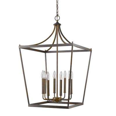Kennedy Indoor 8-Light Oil Rubbed Bronze Chandelier