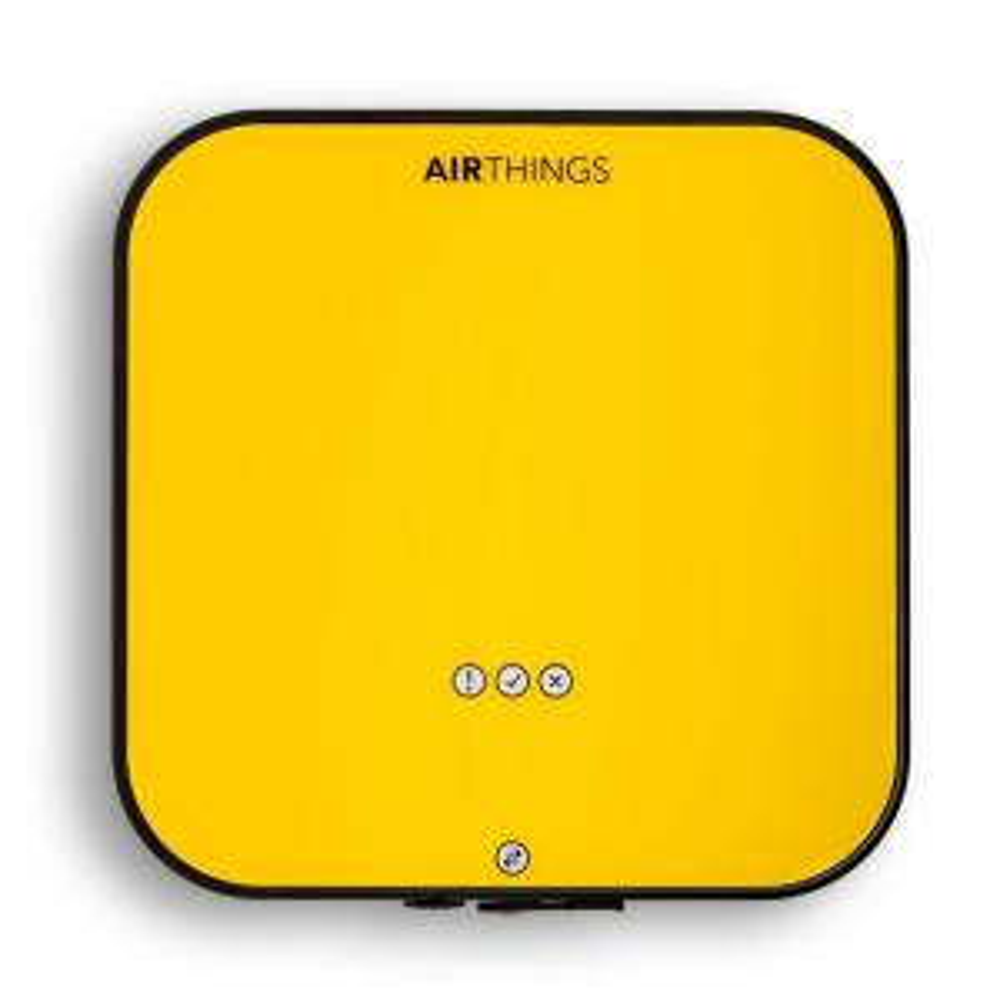 Airthings Portable Radon Detector 1.5-Volt Lightweight Hush Feature