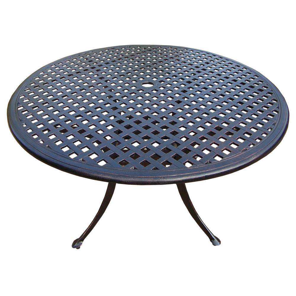 Rose Aluminium Round Outdoor Dining Table