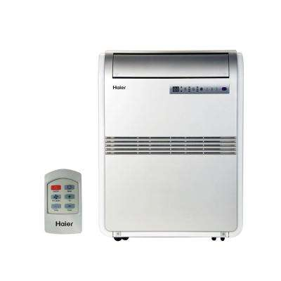 8,000 BTU 250 sq. ft. Cool Only Portable Air Conditioner with 70-Pint/Day Dehumidification Mode and LCD Remote Control