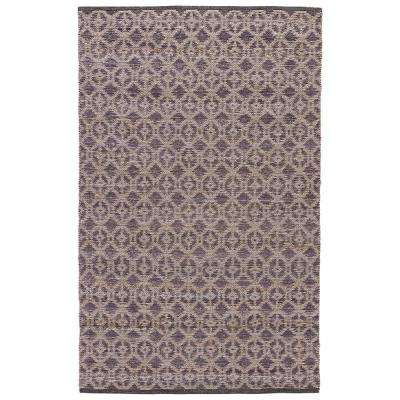 Natural Marshmallow 5 ft. x 8 ft. Tribal Area Rug