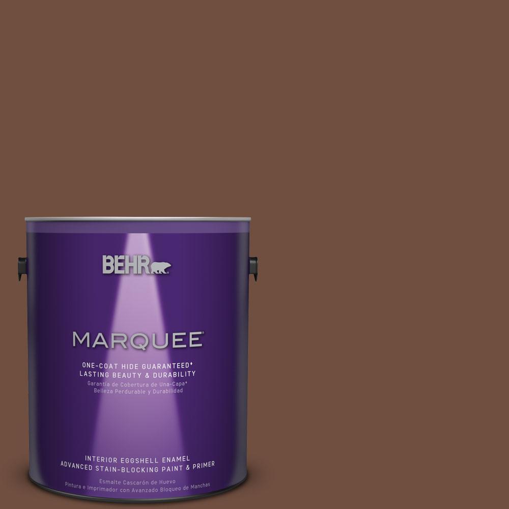 1 gal. #HDC-FL15-04 Cinnamon Crumble Eggshell Enamel Interior Paint