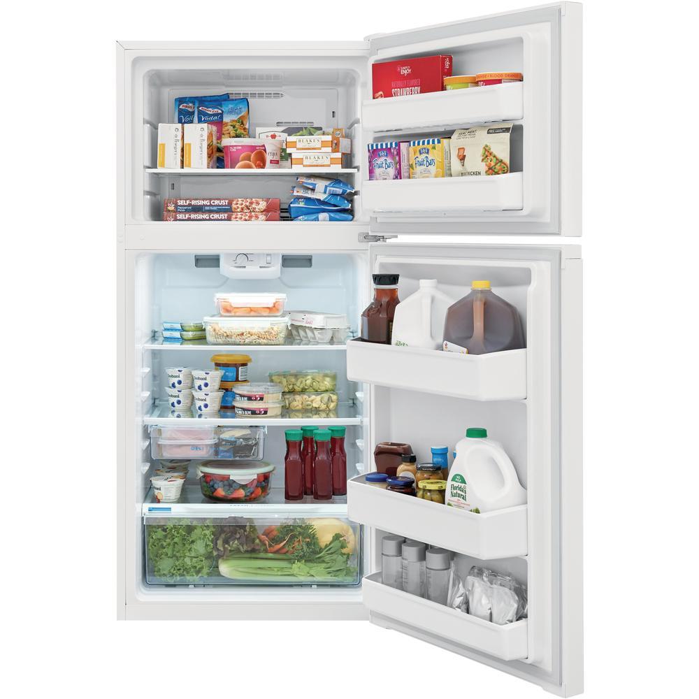 13.9 cu. ft. Top Freezer Refrigerator in White