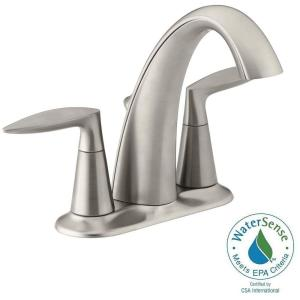 Bathroom Faucets Home Depot kohler willamette 4 in. centerset 2-handle water-saving bathroom