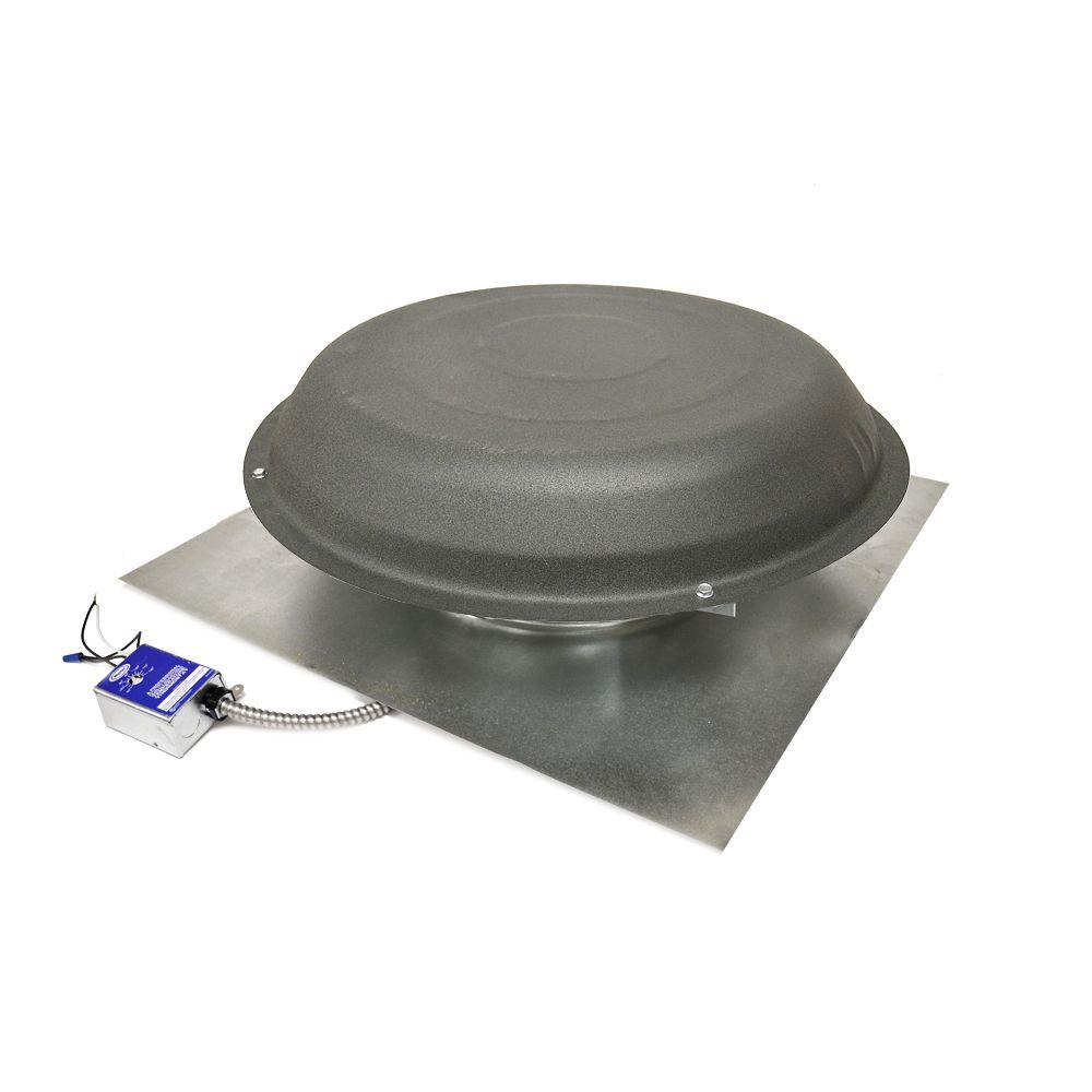 Roof Air Ventilator : Master flow cfm power roof mount vent in shingle