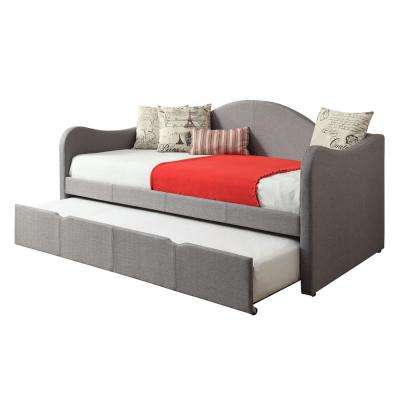Taupe Daybed with Trundle