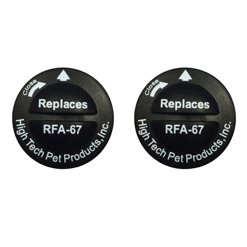 PetSafe Compatible RFA-67 6-Volt Replacement Battery (2-Pack)