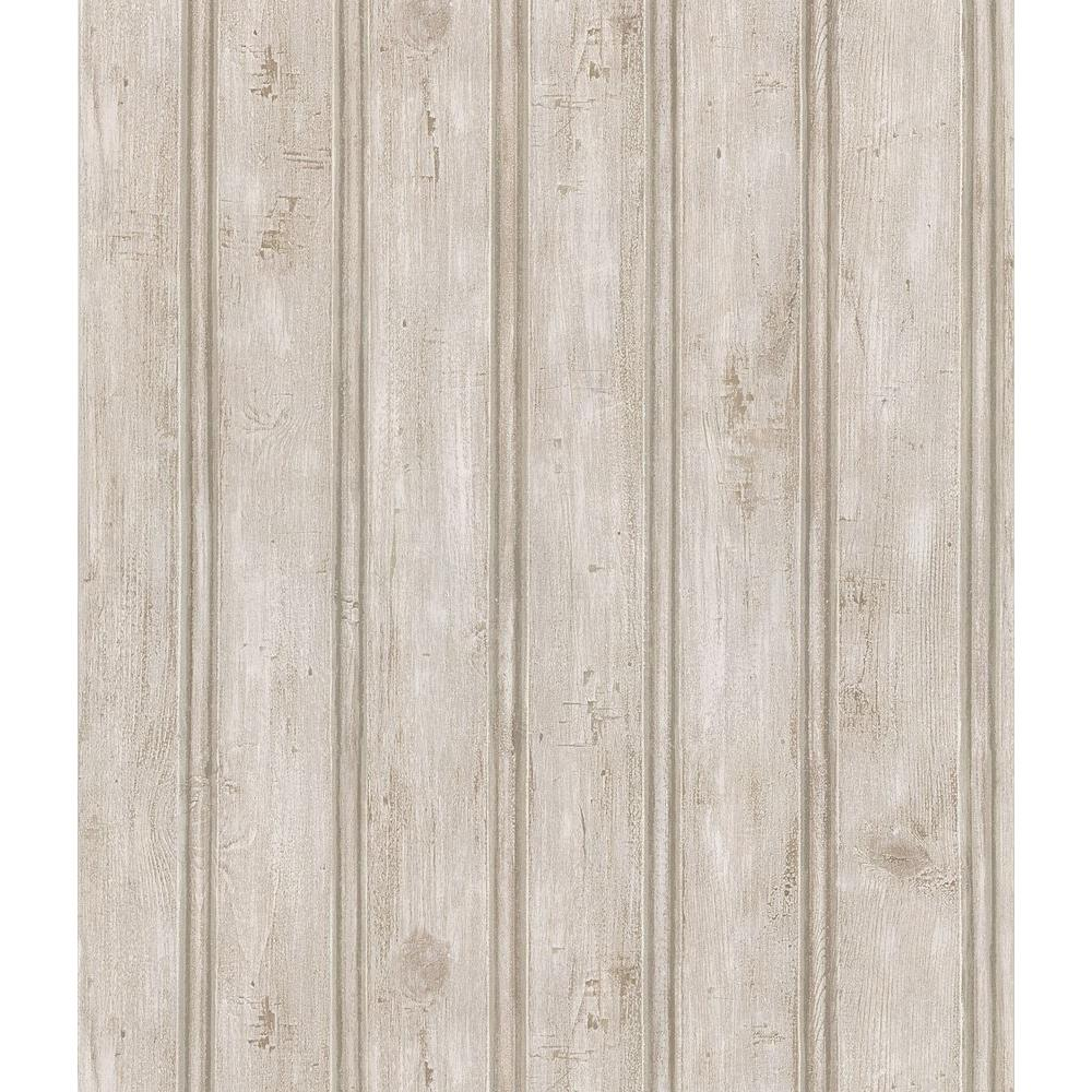 Brewster Beadboard Wallpaper