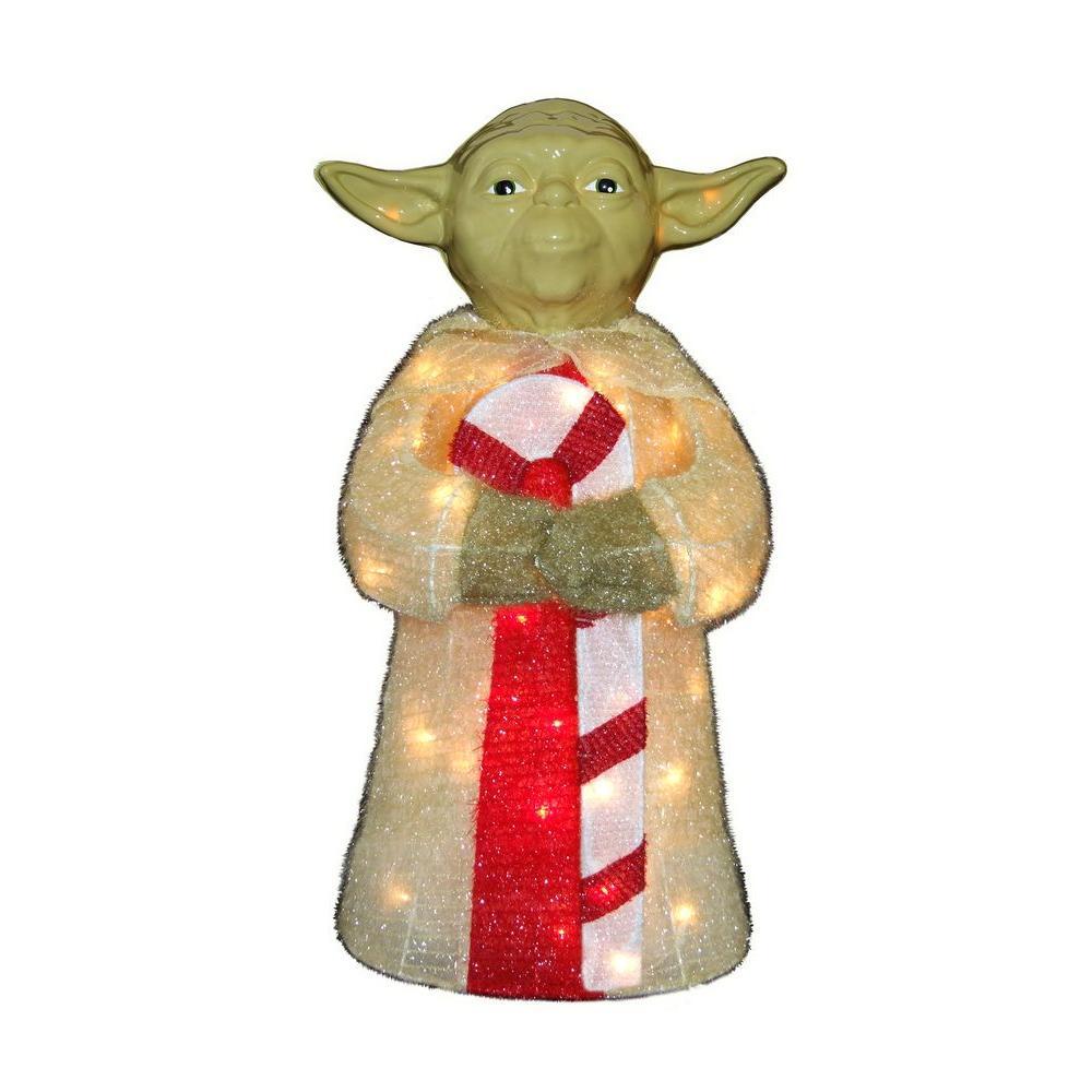 kurt s adler 28 in star wars yoda yard decor - Kurt Adler Christmas