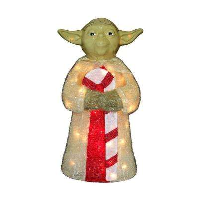 28 in. Star Wars Yoda Yard Decor