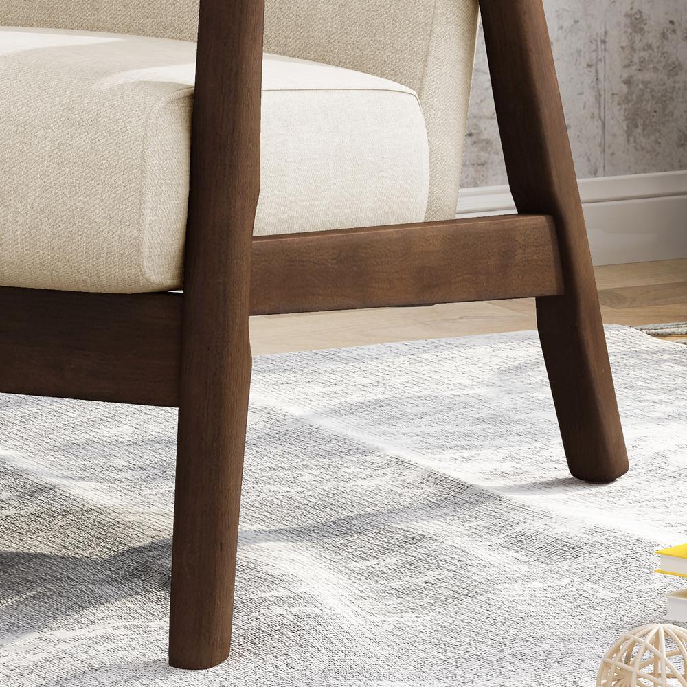 Miraculous Noble House Chabani Mid Century Modern Tufted Beige Fabric Cjindustries Chair Design For Home Cjindustriesco