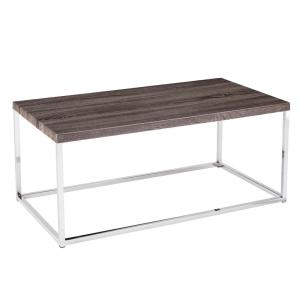 Southern Enterprises Serena Sunbleached Gray Cocktail Table by Southern Enterprises