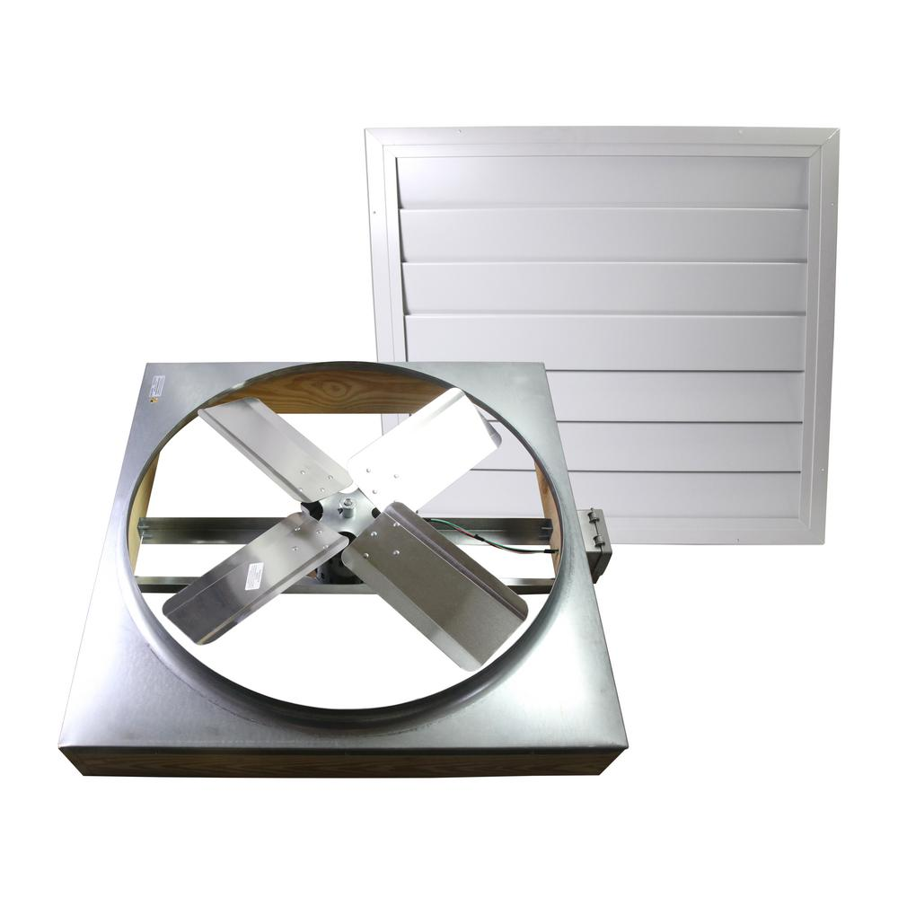 Whole House Fan : Cool attic in cfm direct drive whole house fan