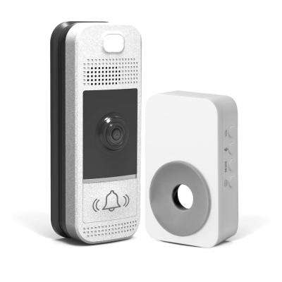 Wireless Video Door Bell Kit with Wireless Chime and Slim Design