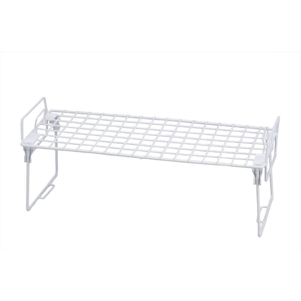 Honey-Can-Do 18 in. x 7 in. Steel Cabinet Shelf (Set of 2)