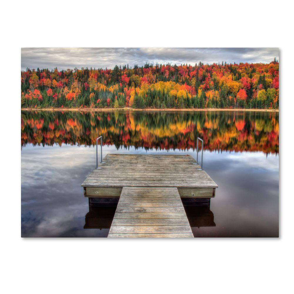 14 in. x 19 in. Autumn Canvas Art