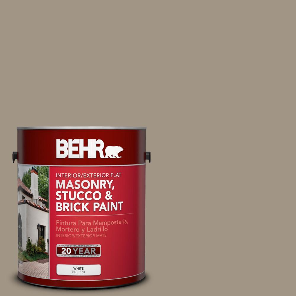 1 gal. #ECC-43-2 Bridle Path Flat Interior/Exterior Masonry, Stucco and Brick Paint