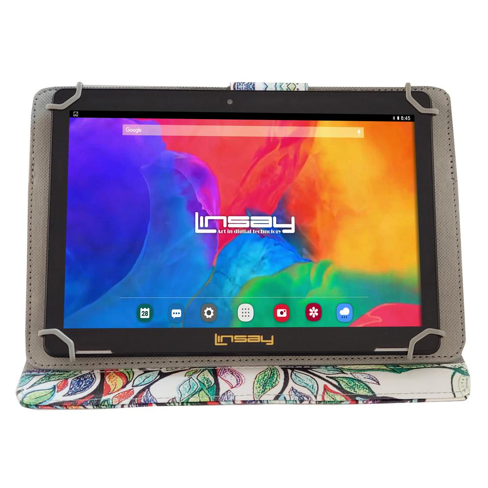 LINSAY 10.1 in. 1280x800 IPS 2GB RAM 16GB Android 9.0 Pie Tablet with Tree Shape Marble Case was $324.99 now $79.99 (75.0% off)