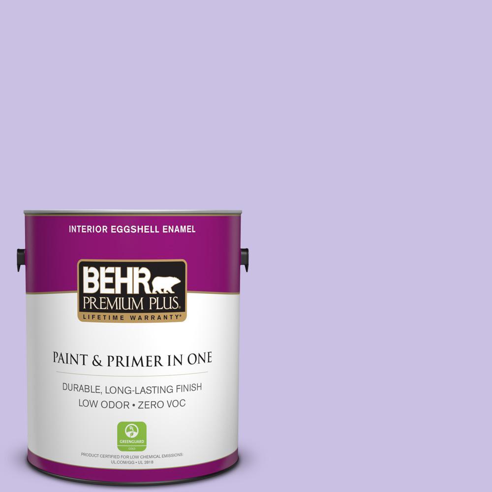 BEHR Premium Plus 1-gal. #P560-3 Party Hat Eggshell Enamel Interior Paint