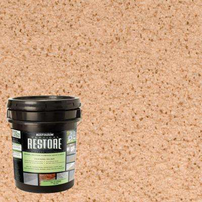 4 gal. Sedona Vertical Liquid Armor Resurfacer for Walls and Siding